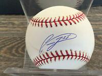 Francis Beltran Chicago Cubs autographed offical Major League Baseball w/COA