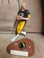 Terry Bradshaw AUTOGRAPHED/signed Salvino Figurine statue Steelers RARE #'d