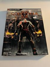 GOD OF WAR II PLAYSTATION 2 BRADY GAMES SIGNATURE SERIES STRATEGY GUIDE NRMT