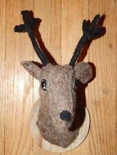 Felt Miniature Deer Taxiderdemy Bust Head