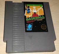 Baseball Nintendo NES Mario Vintage original retro classic game cartridge