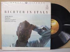 ANGEL STEREO S36104 RICHTER IN ITALY- Schumann Piano Sonata etc LP EX = asd 520