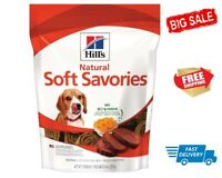 Hill's Dog Treats Soft Savories Beef and Cheddar For Dogs Free Shipping