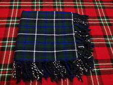 T.C BLUE DOUGLAS TARTAN WOOL FLY PLAID/FLY PLAID BLUE DOUGLAS/KILT PIN/FLY PLAID