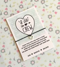I do Crew Wish String! Hen Party Gifts! Hen Party Favours! BUY 5 GET 1 FREE!