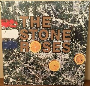 "The Stone Roses 15"" x 15"" Canvas print on a wooden stretcher frame"