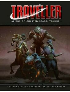 Traveller Aliens Of Charted Space Volume 1 RPG Roleplaying Game Mongoose Publish