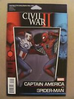 Civil War II Amazing Spider-Man #1 Marvel 2016 Series Action Figure Variant 9.6