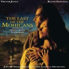 The Last Of The Mohicans Soundtrack - Randy Edelman Trevor Jones (NEW CD)