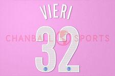 Vieri #32 2004-2006 Inter Milan Homekit Nameset Printing