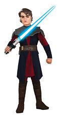 Child Clone Wars Anakin Skywalker Costume Size Medium 8-10 (MISSING MASK)