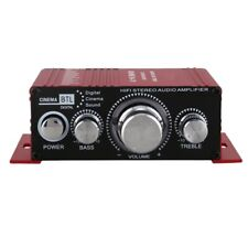 12V Mini Hi-Fi Audio Amplifier Booster MP3 Stereo for Car Motorcycle Boat BR