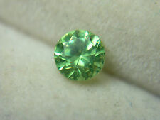 rare Russian Demantoid Garnet diamond cut Natural GENUINE Russia Green 0.32ct