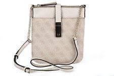 GUESS Stone Logo Crossbody Messenger Bag Small Size Ladies Handbag New With Tag