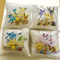 Pokemon Center Online Eevee Series Cushion All 4 Types Set