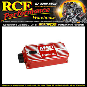 MSD 6425 Red Only MSD Digital 6al Ignition Control w/soft Touch Rev Control