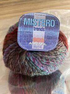 Mistero Trends Chunky Yarn By Adriafil In 8 X 50g Balls Shade 033