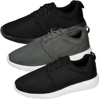Mens Running Trainers Casual Lace Up Gym Walking Sports Shoes Size