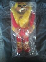 "WWE WWF WRESTLING Hulk Hogan 16"" PLUSH TEDDY BEAR DOLL 2006 OFFICIAL HULKAMANIA"