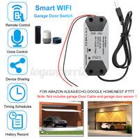 Smart WiFi APP Switch Garage Door Opener Remote Controller for Alexa Google Echo