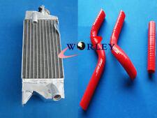 For KAWASAKI KX80 KX85 KX100 1998-2009 99 00 01 02 03 Aluminum Radiator & hose