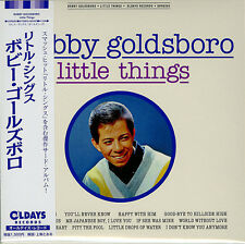 BOBBY GOLDSBORO-LITTLE THINGS-JAPAN MINI LP CD BONUS TRACK C94