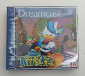 Sega Dreamcast PAL NEW SEALED Disney Donald Couak Attak nuevo neuf neu νέος