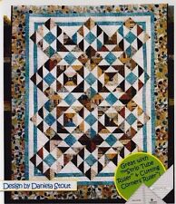 "At Sea - pieced quilt PATTERN for 2.5"" strips - Cozy Quilts - 5 sizes"