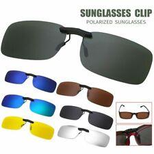 Polarized Driving Night Vision Clip-on Lens UV 400 Sunglasses Glasses USA