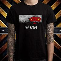 Bad Robot Famous Production Logo Men's Black T-Shirt Size S to 3XL