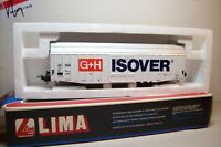 "WAGONS TRAIN HO :  MARCHANDISES GRAND VOLUME ""ISOVER"" de LIMA OCCAS (en boite)"