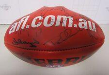 Fremantle Dockers signed  Sherrin Football - P.Bell, M.Pavlich, J.Farmer (AFL)