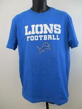 New-Minor-Flaw Detroit Lions Youth Size XL XLarge (18) Blue Shirt