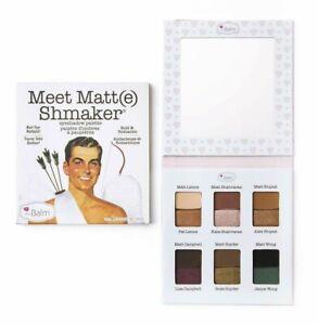 TheBalm Meet Matt(e) Shmaker Eyeshadow Palette by TheBalm Brand New
