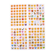 4 Sheets Funny Emoji Stickers Scrapbooking Craft Stickers Reward Kids Toy LC
