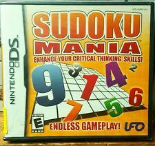 Sudoku Mania - Nintendo DS, Brand New/Factory Sealed