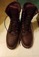 Chippewa logger Boots 10w steel toe