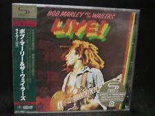 BOB MARLEY AND THE WAILERS Live ! + 1 JAPAN SHM CD The Upsetters Reggae/Ska/R&B