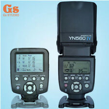 Yongnuo YN560TX LCD Wireless Flash Controller + YN560 IV Flash kit For Nikon