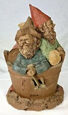 "Signed Tom Clark Gnome Butch Wick Biscuit #1056 Edition #72 Cairn Studio 7"" Coa"
