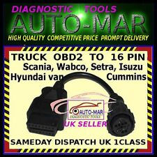 SCANIA TRUCK diagnostic cable 16 PIN connector  AUTOCOM, DELPHI, OPUS, ECLIPSE