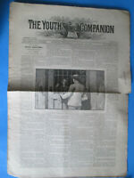 The Youth's Companion Boston August 25 1987 Vol 16 no. 34  newspaper