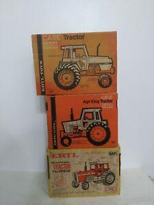 1/16 Ertl Farm Toy case agri king toy tractor boxes Massey Ferguson
