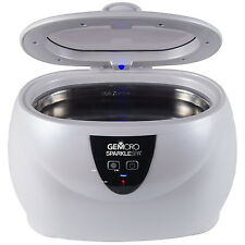 GEMORO SPARKLE SPA PERSONAL ULTRASONIC CLEANER JEWELRY,DENTAL,HOME,COMPUTER,ETC