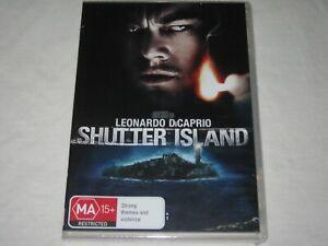 Shutter Island - Leonardo DiCaprio - Brand New & Sealed - Region 4 - DVD