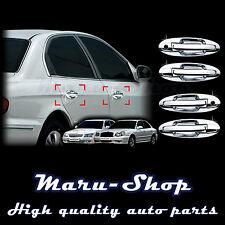 Chrome Door Handle Catch Cover Trim/12pcs for 02~05 Hyundai Sonata