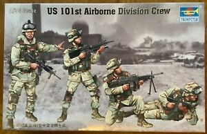 Trumpeter 00410 410 1/35 US 101st Airborne Division Crew 1:35 Scale Model Kit