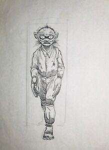 Clive Barker Original Art, Published in Shadows In Eden, Hellraiser, Nightbreed