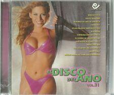 El Disco Del Ano Volume 31 Latin Music CD New