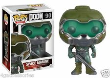Funko Pop! DOOM SPACE MARINE 90 COLLEZIONISTA Statuetta Standard
